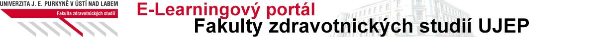 Elearningový portál Fakulty zdravotnických studií UJEP